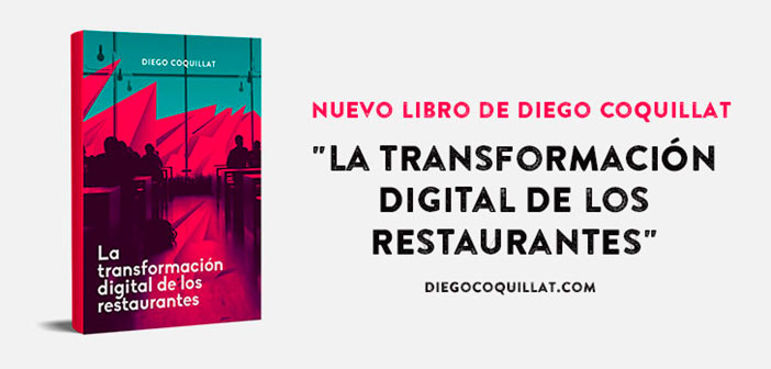 """This is the second book of Diego Coquillat. If the first """"A new era in restaurants"""" and presented as one of the most innovative and strategic sector books. The digital transformation restaurants, talks about the digital change is happening on several levels and that directly affects our sector. Since the role of social networks, the possibilities of virtual reality, Big Data analysis, to new strategies and ways to innovate in your business."""
