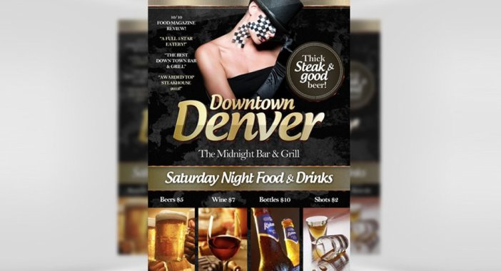 Downtown-Denver-Free-Bar-Flyer-Template