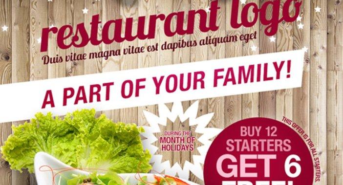 Restaurant-Flyer A5