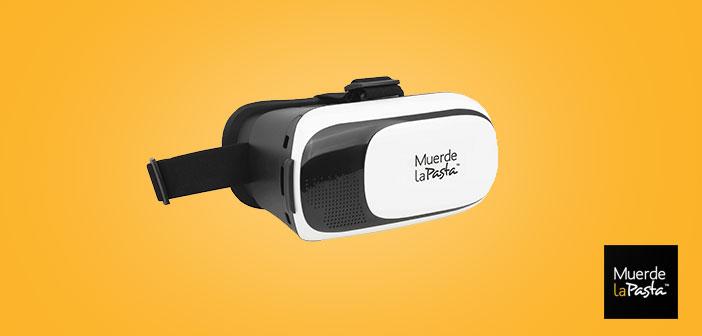 Muerde la Pasta ofrece unas exclusivas gafas de realidad virtual las noches de fin de semana