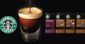 Ya puedes disfrutar del café de Starbucks en cápsulas