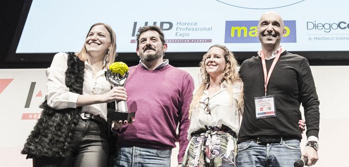 El equipo de Silk&Soya celebrando su premio al mejor restaurante independiente