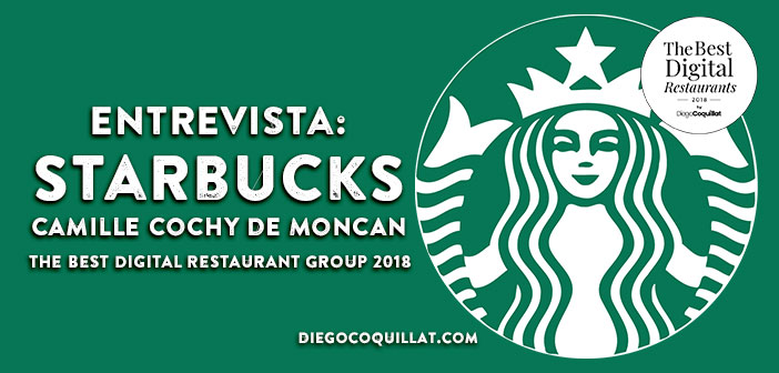 """""""Starbucks acompaña al cliente desde la dimensión digital"""", ganadores The Best Digital Restaurant Group 2018"""
