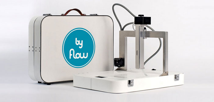 The Focus of ByFlow offers a variety of advanced options FDM. It is a machine having specialized extrusion nozzles and can print on different and varied materials, from clay or food products such as hummus or chocolate.