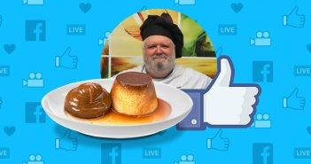 Las recetas de flanes del chef Javier Romero que arrasan en Facebook