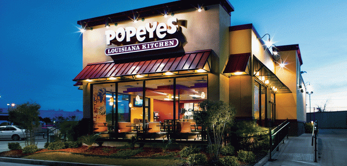 It's no secret that American fast food franchises like Papa John's and Popeye's focus their marketing efforts to communities with poor food cultures, strategy criticized in a society where being overweight is epidemic.