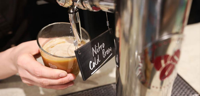 Cold Brew Coffee begins to appear in the charts of many bars and restaurants.