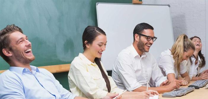 En las personas con mando, el buen humor les hace ser más líderes y les ayuda a encontrarse psíquicamente bien.