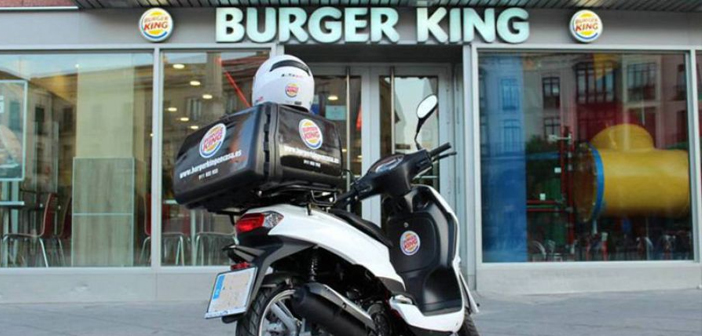 The main differential value of the service is that BURGER KING is responsible for the entire service, no need for a platform of brokering services provided third.