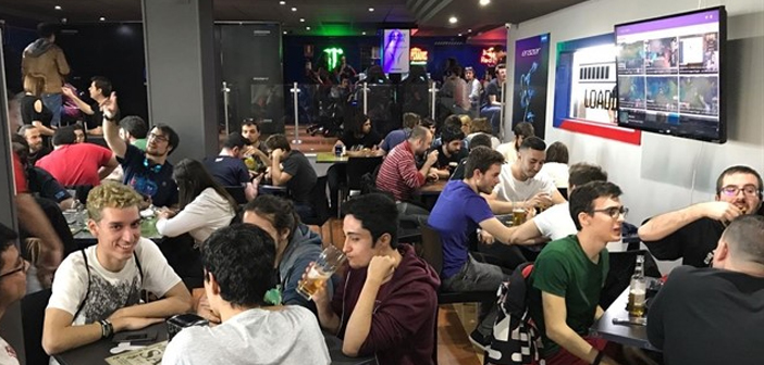 In Spain we had a benchmark that did not achieve its objective, GGWP the Bar & Restaurant where the hamburger joined in true Yankee style video games, the streamings and esports.