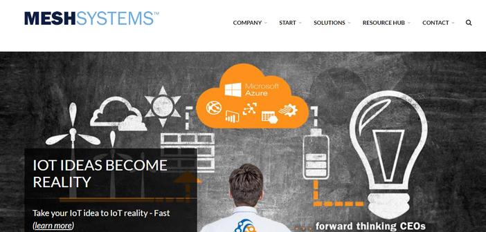 mesh Systems, l'une des start-ups ont reçu dans le NRS Afficher 2017 par Microsoft, Il présente un logiciel qui stocke chaque seconde informations associées à chaque employé.