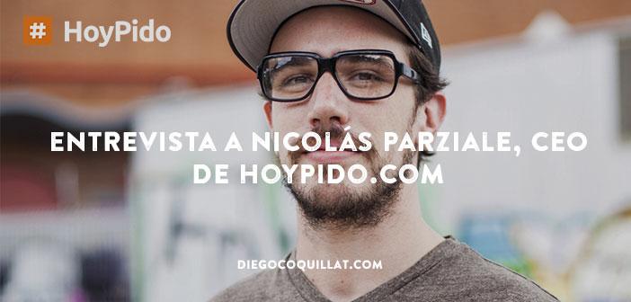 Entrevista/charla con Nicolas Parziale, CEO de HoyPido.com, el primer proyecto que permite pedir comida a domicilio a través de un chatbot, o como ellos lo llaman el primer restaurante en la nube.