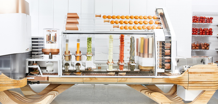 After eight years of development, robotized hamburguesería of Vardakostas opened in June. So is the Creator San Francisco restaurant.