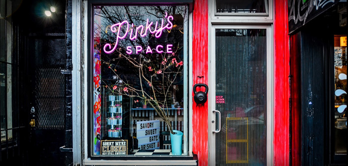 Pinky's Space, a restaurant that fuses American Southern food with upscale French cuisine, see as the income received by the reserves for sharing home now account for 75% of the total.