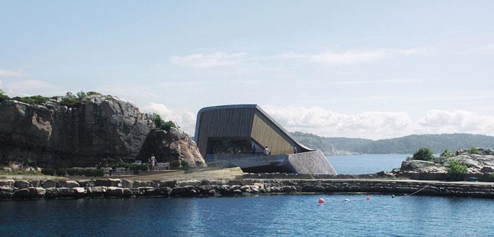 El Under de Noruega se convertirá en el restaurante submarino más grande del mundo
