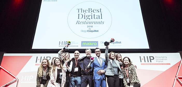 Quique Dacosta,StarbucksEspañay elrestaurante Silk & Soyade Madridfueron los ganadores de los premiosThe Best Digital Restaurants 2018al mejor chef o cocinero digital, a la mejor cadena, grupo o franquicia de restaurantes y al mejor restaurante independiente digital, respectivamente.