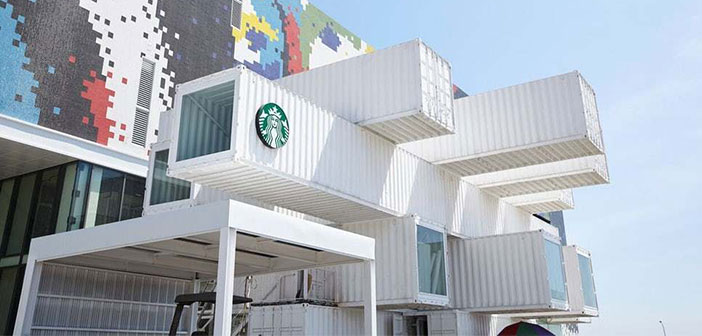 Starbucks collaboration and Kengo Kuma shows that it is not necessary to incur additional expenditures to achieve a compromise between premium and sustainability feeling in restaurants. It is expected to become increasingly organized catering franchises who dare to try in the future cargotectura.