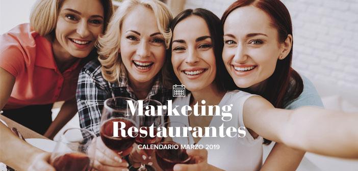 Fun Fit Calendario.March Of 2019 Marketing Activities Calendar For Restaurants