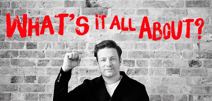 El famoso presentador de programas de cocina británico Jamie Oliver intentó enfrentarse a los menús escolares de EE. UU. en su serie Jamie Oliver's Food Revolution, que sin embargo fue duramente criticada por la audiencia estadounidense sin que llegara a calar el mensaje que abogaba por dar una comida saludable a los pequeños escolarizados.