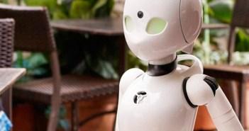 Robots de camarería dirigidos por control remoto