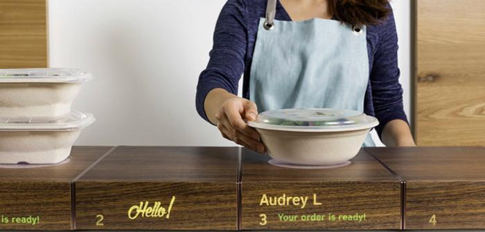 meubles intelligents restaurants à adapter aux commandes de livraison de produits alimentaires ont augmenté
