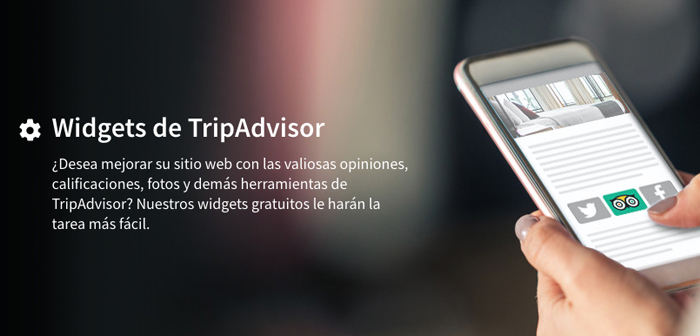 TripAdvisor widget includes the restaurant's website. A) Yes, who frequent your website can leave an opinion page restaurant reviews without leaving the site brand.