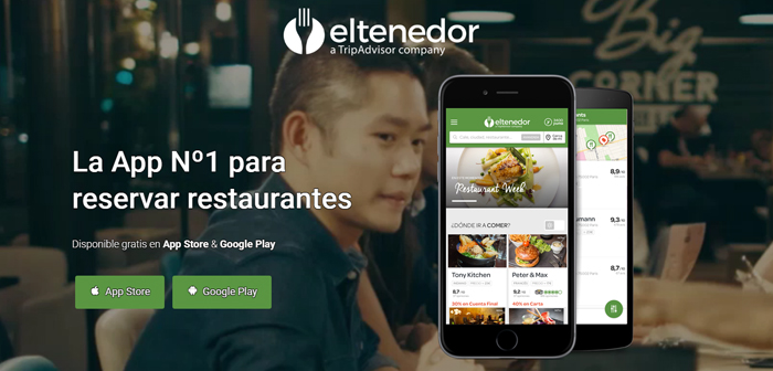 ElTenedor, It is a different case because it has a community of more 14 million average ratings by users who have booked and have enjoyed that book. But if the user does not meet the reserve, You can not comment.