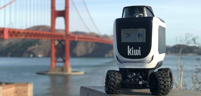 KiwiBot, el simpático robot autónomo que ya ha entregado 10.000 food delivery orders KiwiBot, el simpáthe sympathetic autonomous robot has already deliveredrder food delivery