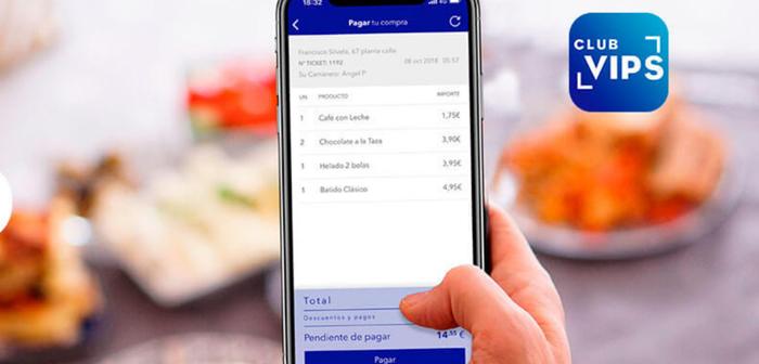 Maintenant, nos restaurants de service de table (VIPS, Ginos, Vendredi y wagamama), con Pay&Go'll payer votre facture à tout moment, sans l'aide d'un serveur.