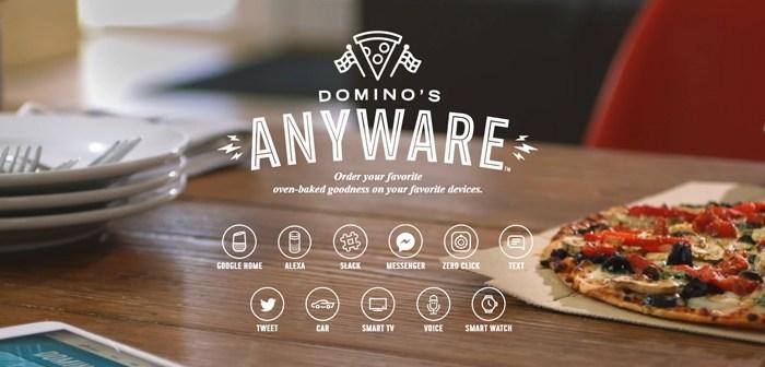 Domino's centraliza todas sus vías de comunicación con el consumidor gracias a AnyWare Domino's Pizza, el mejor ejemplo de omnicanalidad en restaurantes gracias a su sistema AnyWare