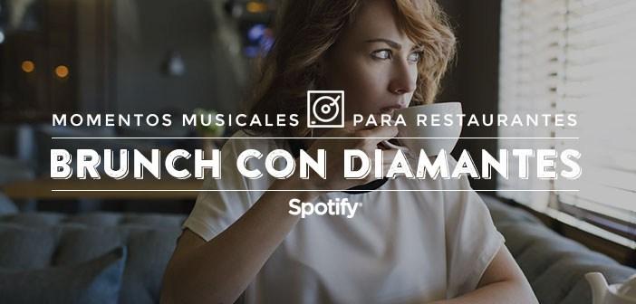 """Listas de música para restaurantes Música para restaurantes: 50 canciones para un """"Brunch con diamantes"""""""