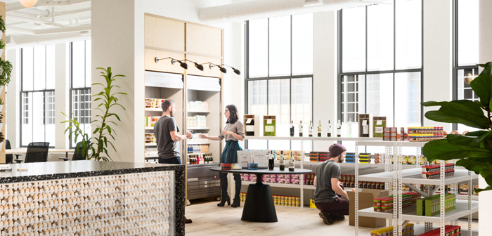 The world leader in 'coworking' WeWork Food Labs creates innovative