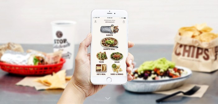 Chipotle move the kiosk ordering your app to improve the car service from the customer's car