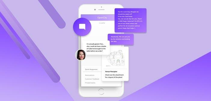 OpenCity aboga por los chatbots para conciliar las necesidades de comunicación de los millennials y los restaurantes