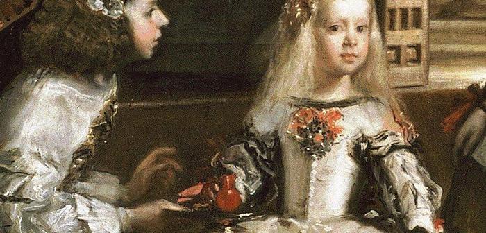 Ces informations sont non seulement par écrit, mais aussi à travers les œuvres d'art qui semblent refléter leur consommation et, comme on pouvait montrer le célèbre tableau Ménines de Velázquez, dans la scène où il est offert une tasse rouge à l'infante Marguerite d'Autriche.
