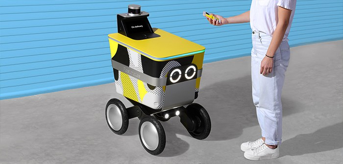 Serve, another home-delivery robot that joins the trend in the autonomous mobility