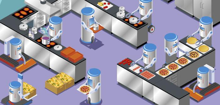 San Francisco fills its restaurants robots