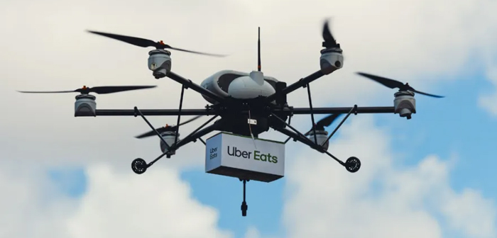 Uber Eats aims to give a complete reversal of this reality. This year has begun testing a prototype drone delivery in the city of San Diego (California, OF. UU.) a very characteristic way.