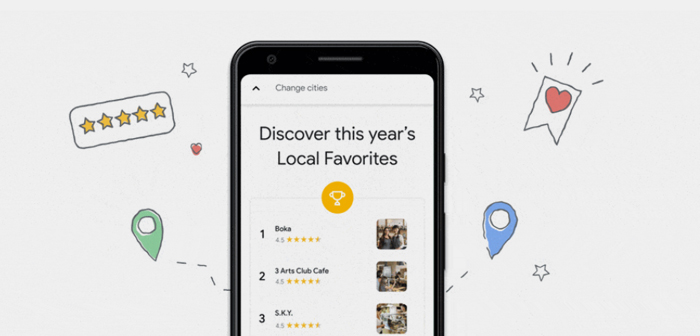 Google Maps ya utiliza la inteligencia artificial y el aprendizaje de máquina para recomendar restaurantes y platos