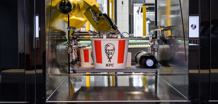 KFC opens restaurant without employees, based on 100% in robotics