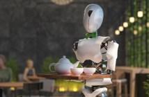 Los robots camareros se extienden por Europa a causa de la crisis del coronavirus