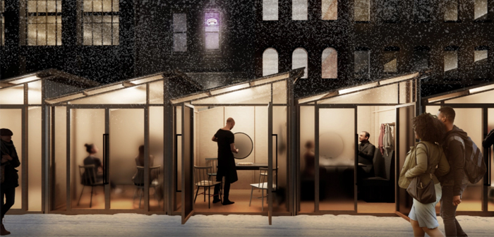 Chicago Holds Largest Outdoor Solutions Design Competition To Help Restaurants In The Cold Winter