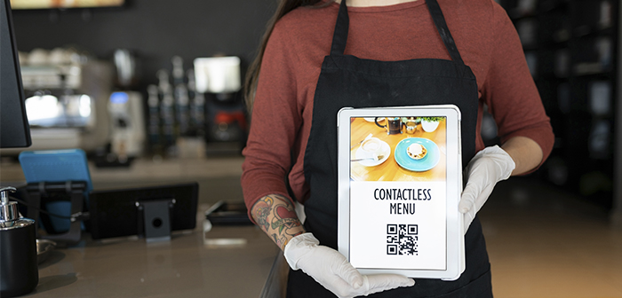 Solutions to become a Contactless Restaurant and avoid the transmission of Covid19
