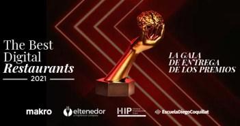 Hoy conoceremos a los ganadores de The Best Digital Restaurants 2021