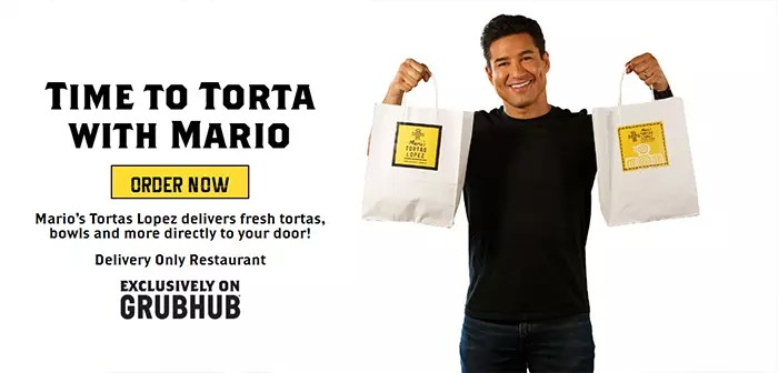 Mario Lopez, well known for the role in which he played A. C. Slater in the youth series Saved by the Bell. Soon it will inaugurate its virtual brand through dozens of restaurants.