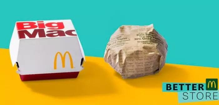 McDonald's reivindica una mayor sostenibilidad en la restauración, y lo hace con un buen ejemplo, eliminando todos los plásticos de los locales que participan en la iniciativa.