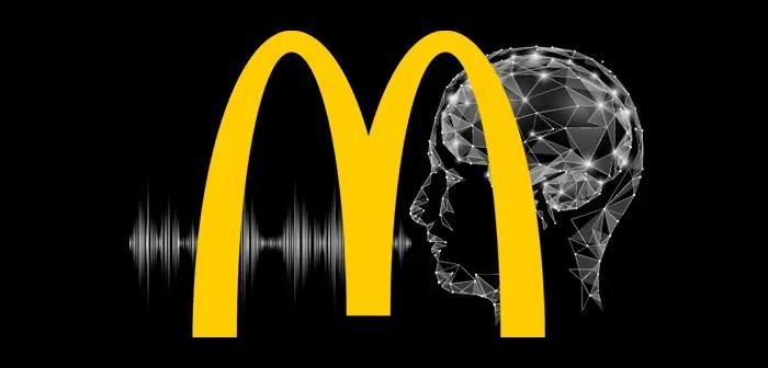 La inteligencia artificial basada en la voz podría cambiar la forma de realizar los pedidos en McDonald's.