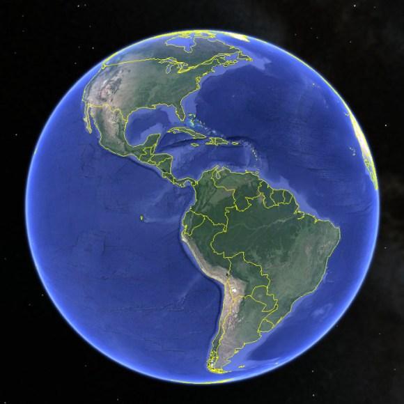 Terra - Google Earth