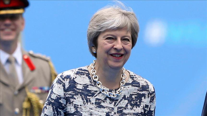 Theresa May'den 'küresel iş birliği' vurgusu