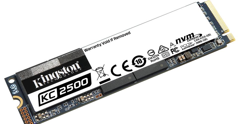 Kingston, 2TB kapasiteli SSD'sini piyasaya sürüyor